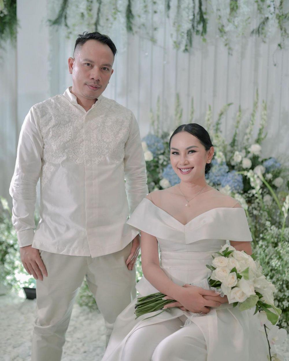 pernikahan vicky dan kalina di undur © 2021 brilio.net