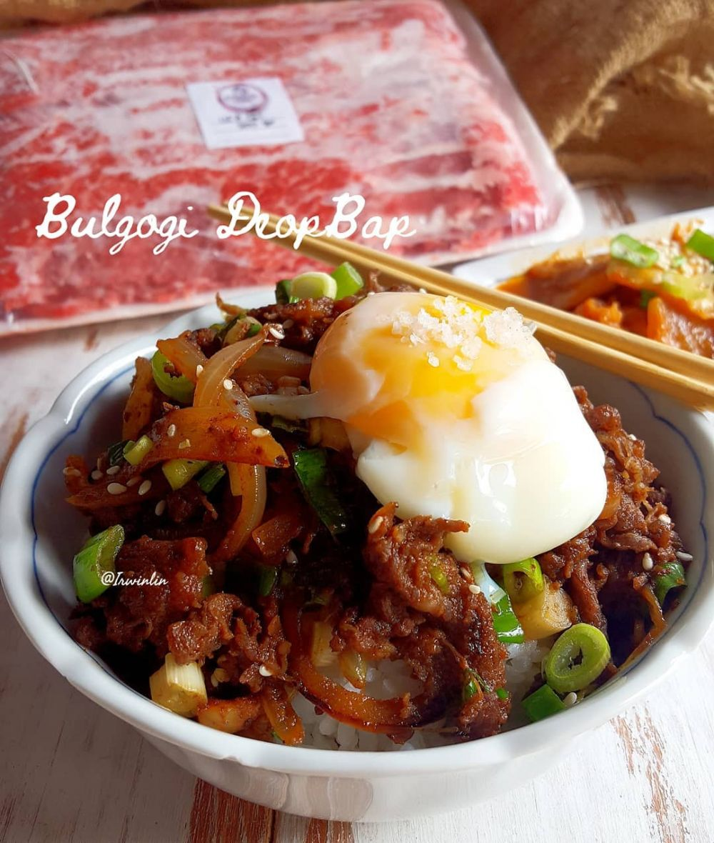 Resep rice bowl ala kafe © Instagram