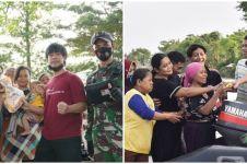 8 Momen Rian D'Masiv bantu korban banjir Jakarta, aksinya bikin salut