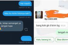 10 Chat lucu tanya jawab di online shop, endingnya bikin seller emosi