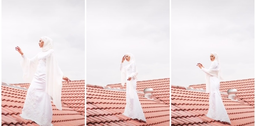 prewedding di atap © TikTok
