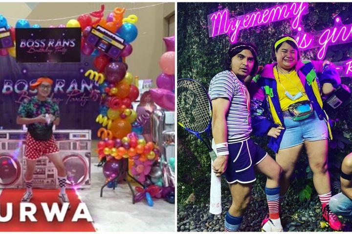 10 Potret seru fashion show ultah Raffi Ahmad-Nagita, kostumnya heboh