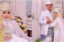 7 Potret pernikahan Ayudia LIDA, sederhana dan penuh kebahagiaan