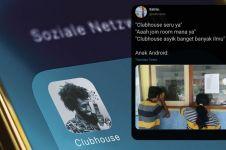 10 Curhatan lucu pengguna Android soal Clubhouse ini bikin nyengir