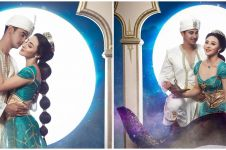 7 Pemotretan Ali Syakieb dan Margin Wieheerm bertema Aladdin, kece