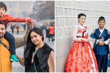 6 Momen seleb foto di lokasi syuting drama Korea, posenya mirip