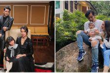 6 Momen seleb foto keluarga di sinetron, pose Arya Saloka bikin baper