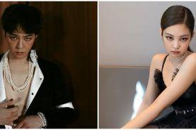 6 Momen kedekatan G-Dragon BIGBANG dan Jennie BLACKPINK, pacaran?