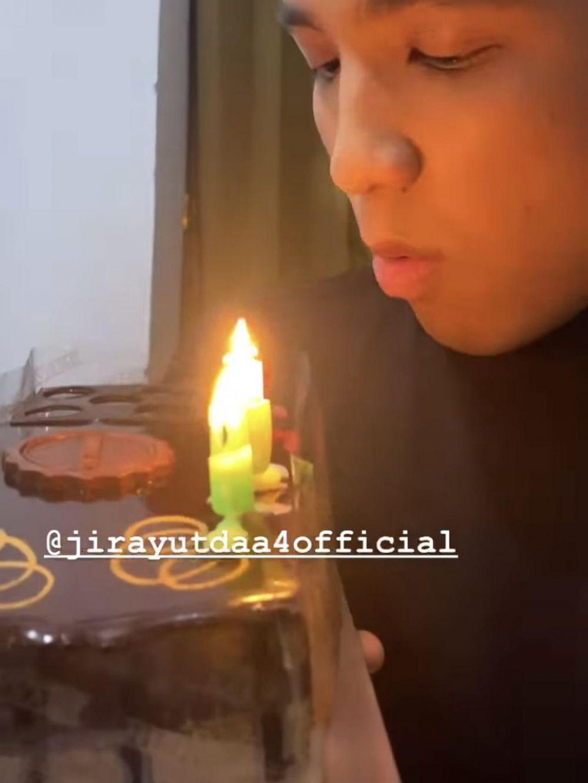 Momen ulang tahun Jirayut ke-20 Instagram © 2021 brilio.net