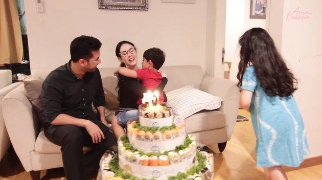 Momen ulang tahun Arumi Bachsin1 © 2021 brilio.net