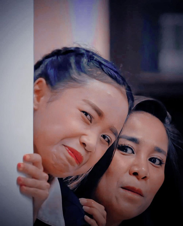 Chika Waode dan Ayya Renita © 2021 brilio.net