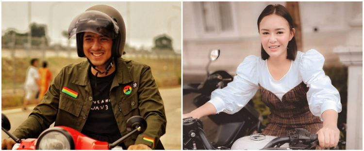 Viral video Amanda Manopo & Arya Saloka motoran bareng di luar syuting