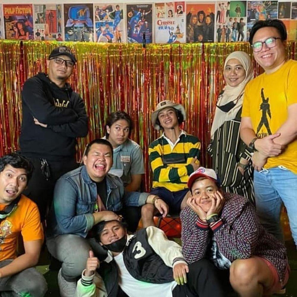 momen reuni anggota Coboy Junior © 2021 brilio.net