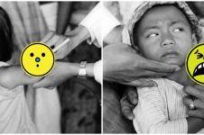 Viral potret vaksinasi cacar zaman Belanda, jarum suntik bikin melongo