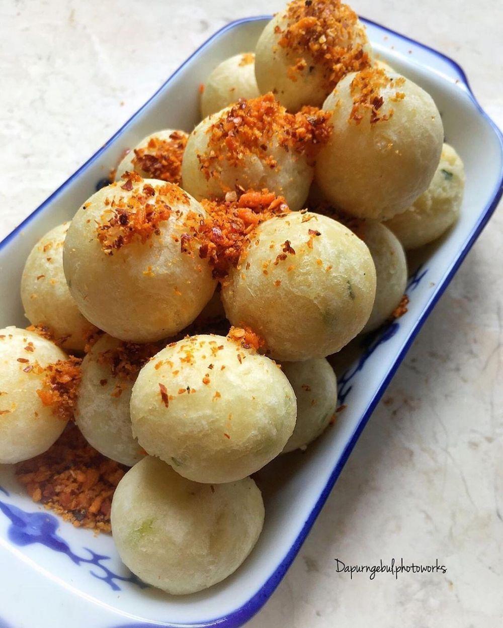 Resep cimol goreng ala rumahan Instagram ; cookpad © 2021 brilio.net
