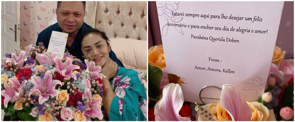 surat cinta seleb di bunga © 2021 brilio.net
