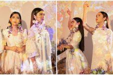 9 Pemotretan terbaru Lyodra, Tiara dan Ziva Idol bertema bunga, elegan