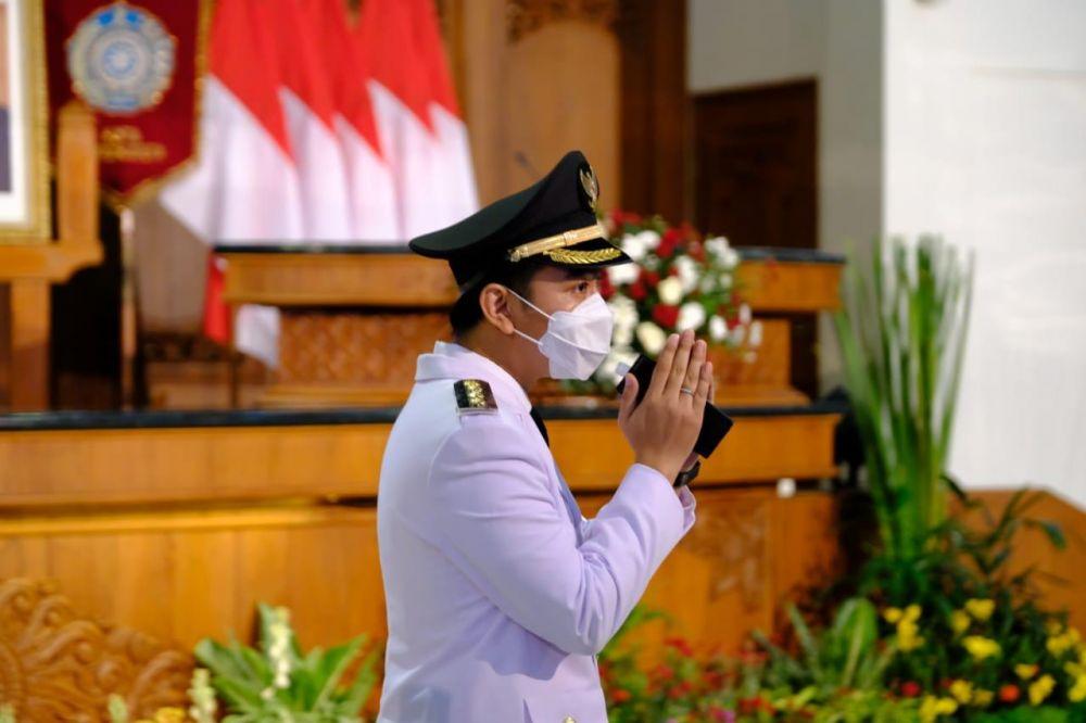 Gibran Rakabuming Raka dilantik jadi Wali Kota Solo © 2021 brilio.net