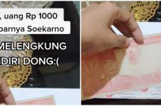 Heboh uang jadul gambar Bung Karno bisa melengkung, jadi buruan