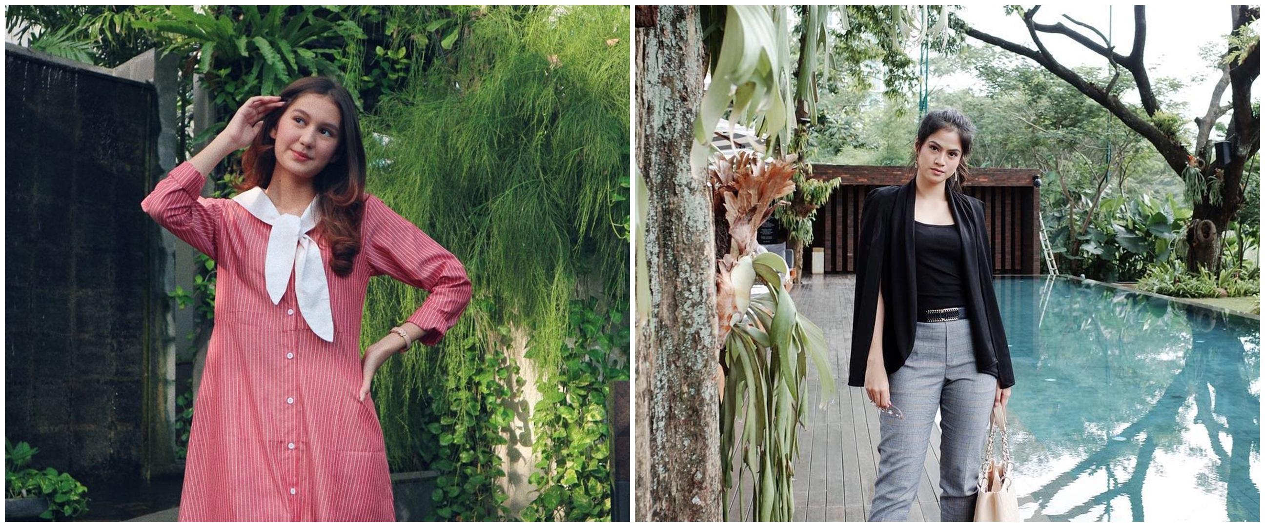 Berseteru di sinetron, ini 10 beda gaya Zoe Abbas dan Hana Saraswati