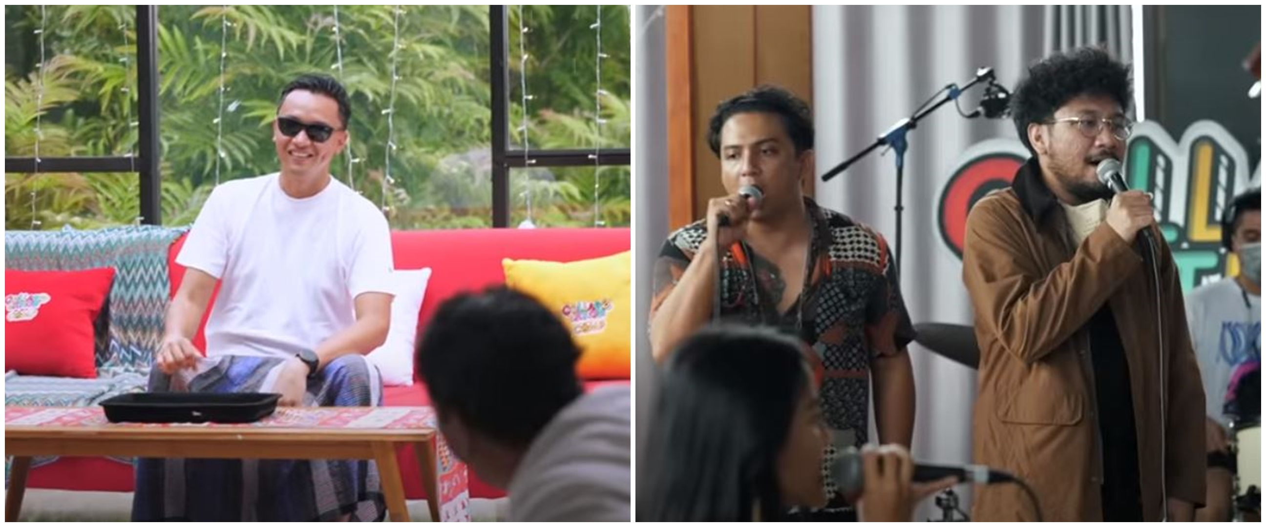 Momen lucu 7 musisi 'dipaksa' senam di Collabonation CAMP The Series