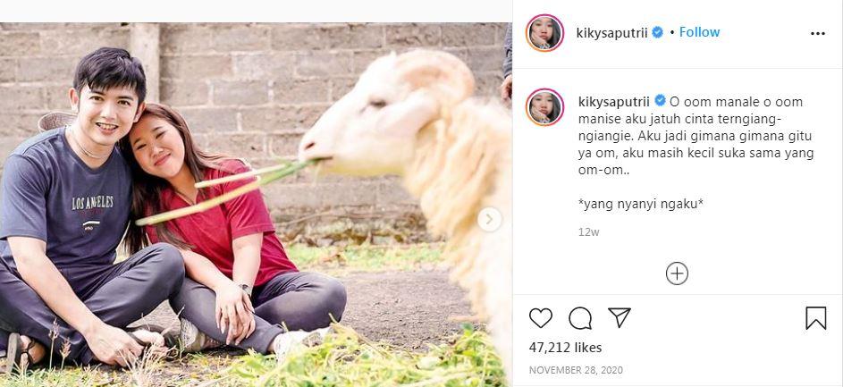 10 Gombalan mesra Kiky Saputri istimewa
