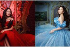 10 Pemotretan Natasha Wilona bak di negeri dongeng, terbaru Cinderella
