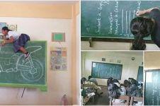 10 Momen absurd ketika gunakan papan tulis, bikin kangen sekolah