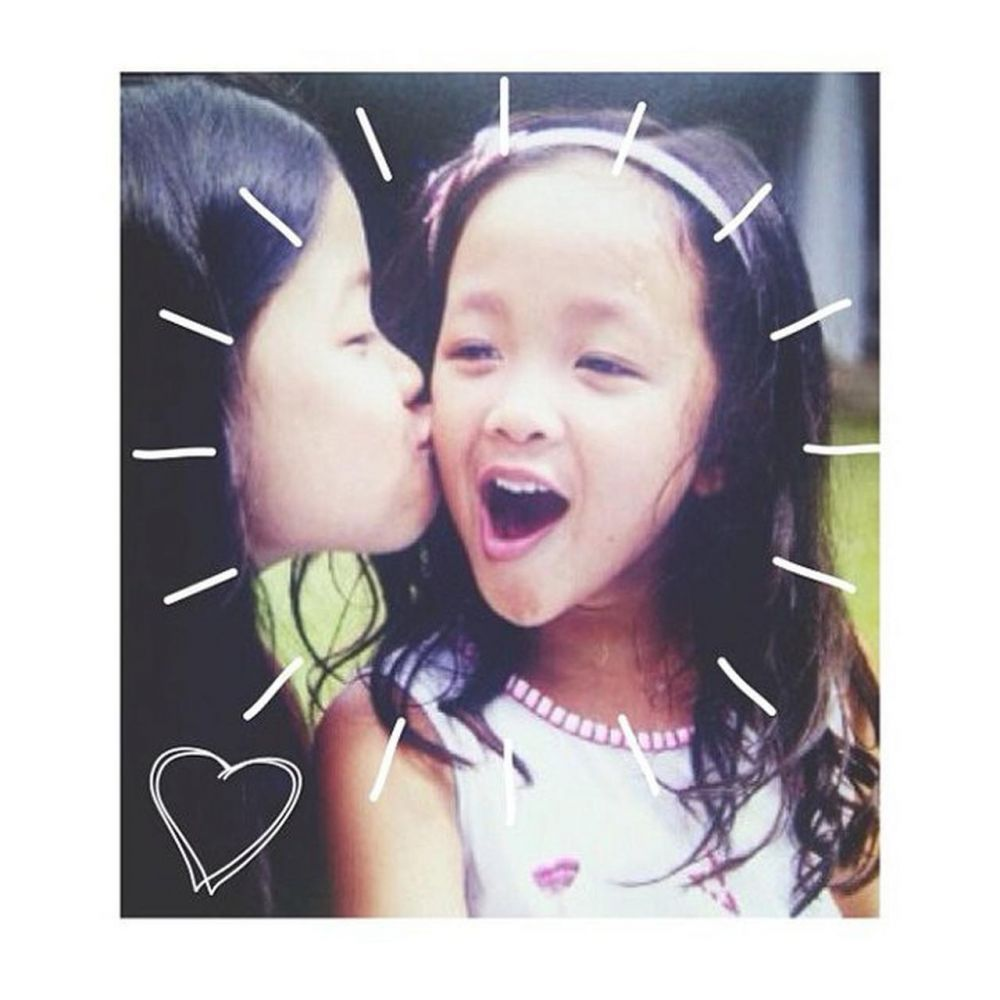 potret masa kecil Dita Karang © 2021 brilio.net Instagram