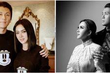 7 Potret Syahrini & Reino Barack kenakan kimono, rayakan anniversary
