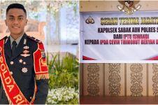 8 Potret Ipda Cevin Thimorut, kapolsek termuda di Indonesia yang viral