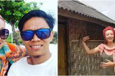 Menikah dengan pria asal lombok, Bule ini bahagia tinggal di gubuk