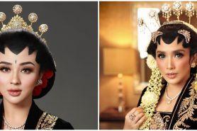 Potret 10 pesinetron dandan ala pengantin Jawa ini manglingi