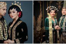 Penampilan 7 pasangan seleb dandan ala pengantin Jawa, manglingi