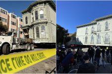 Viral kisah pria pindahkan rumah pakai truk ini bikin melongo