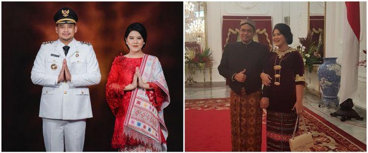 10 Potret Kahiyang Ayu pakai kain etnik, penampilannya curi perhatian