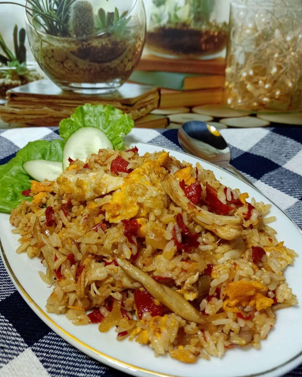 resep nasi goreng ayam ©Instagram