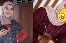 Kerap tampil natural, ini 10 potret Zaskia Adya Mecca ber-makeup tebal