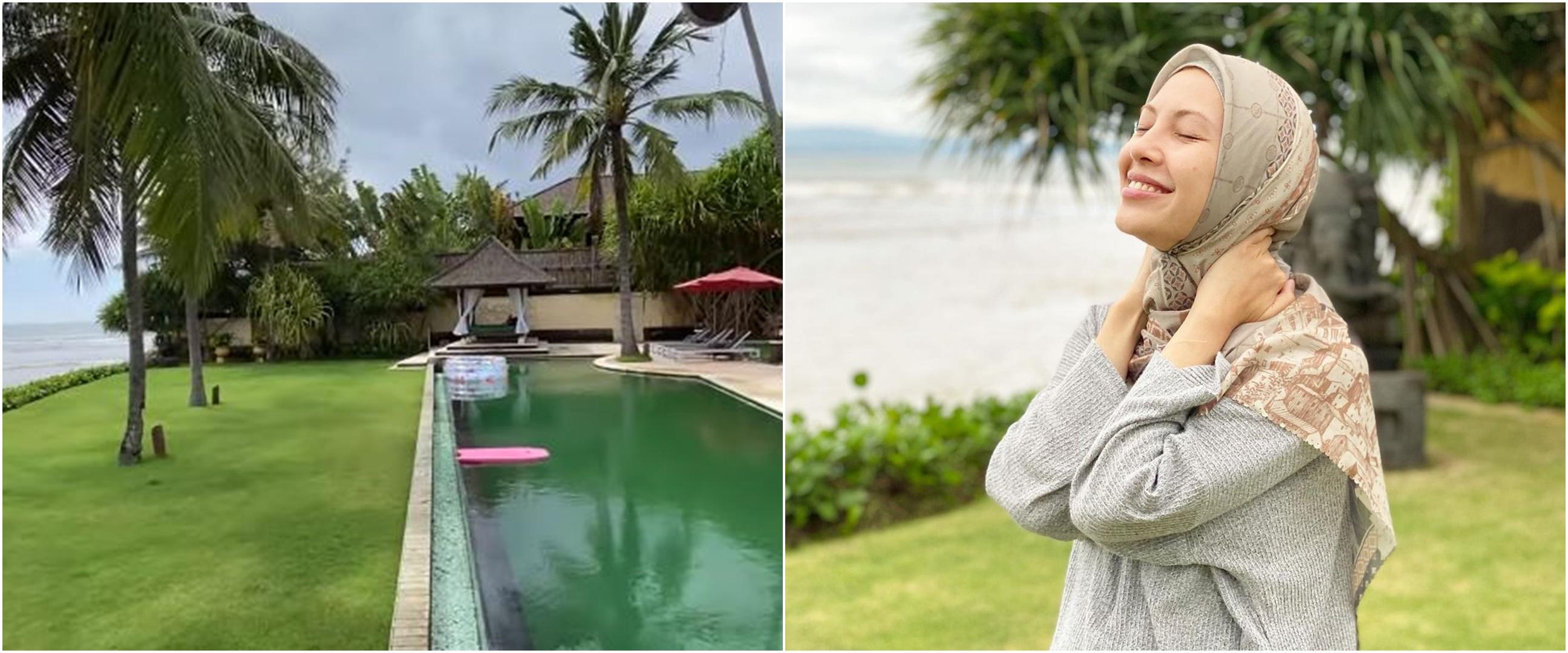10 Potret rumah baru Ratna Galih di Bali, menghadap langsung ke laut