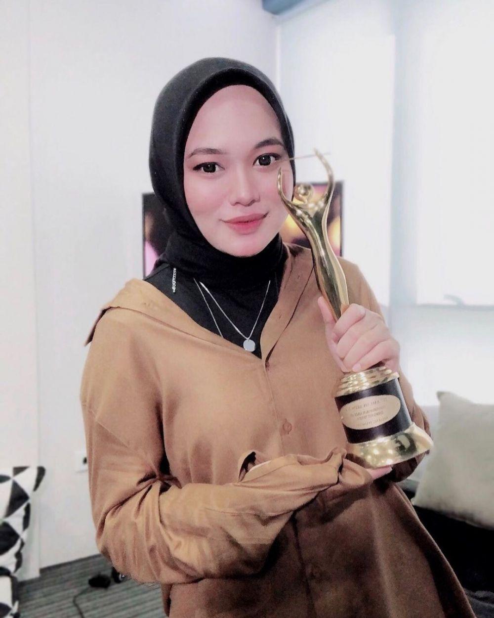 Potret terbaru Anisa Rahman eks Sabyan © 2021 brilio.net