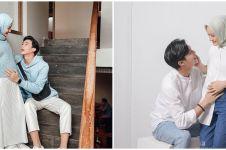 8 Gaya outfit Dinda Hauw saat hamil, simpel tapi elegan