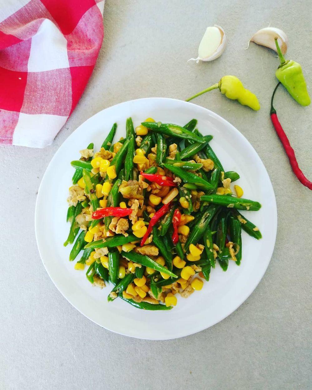resep tumis jagung © Instagram
