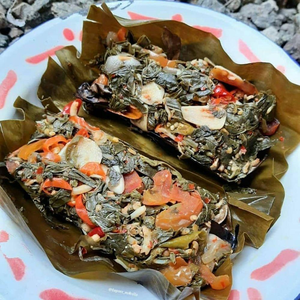 resep pepes daun singkong Instagram ; Cookpad © 2021 brilio.net