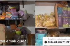 Viral 10 penampakan rumah penuh koleksi botol minum dan kotak makan