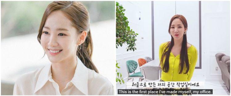 10 Potret rumah aktris Korea Park Min-young, rooftop-nya cozy