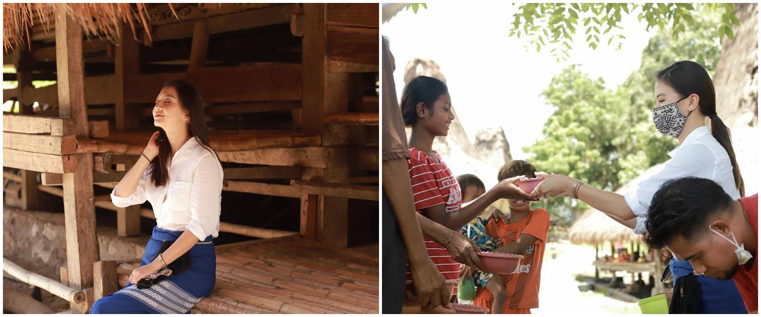 12 Momen Raline Shah liburan di Sumba, lakukan aksi sosial
