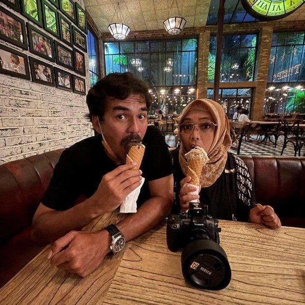 Potret kenangan Rinna Gunawan dan suami © Instagram