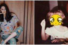 9 Potret masa kecil Sabai Morscheck, bak kembaran Bjorka