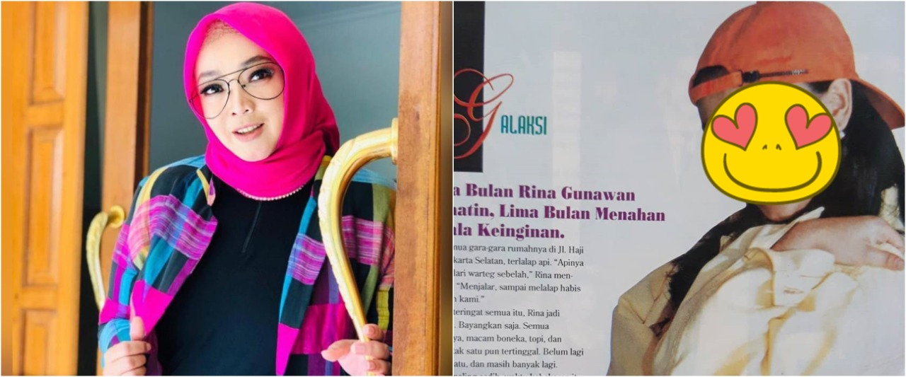 10 Potret transformasi Rina Gunawan dari awal karier, curi perhatian