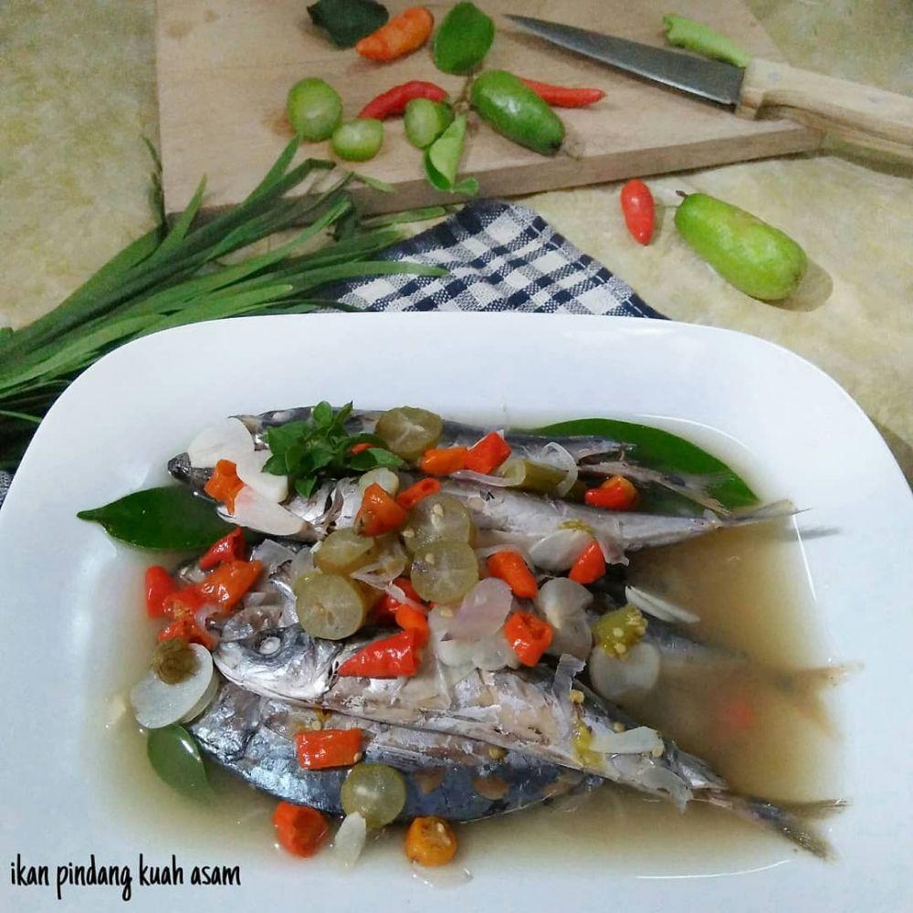 resep ikan cue keranjang Instagram © 2021 brilio.net